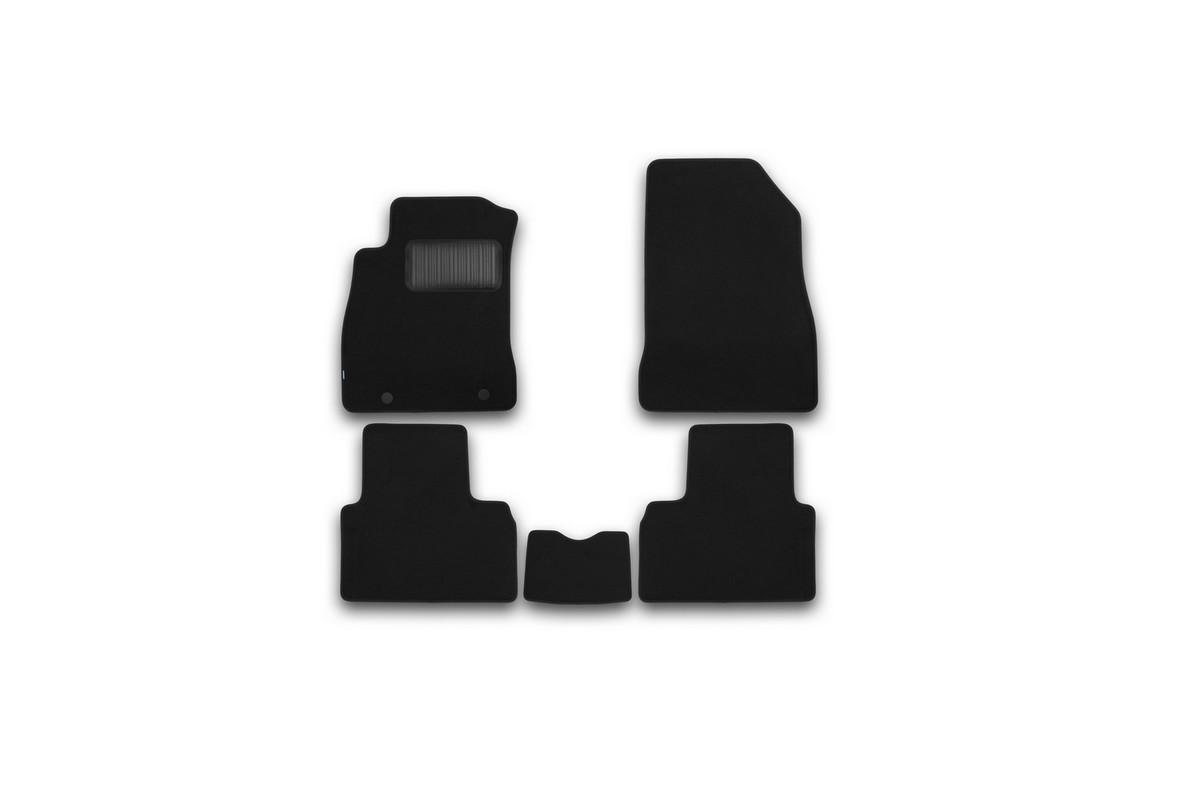 Набор автомобильных ковриков Klever для Nissan Juke 2010-, кроссовер, в салон, 5 шт. KVR03363522110kh комплект ковриков в салон автомобиля klever nissan juke 2010 standard