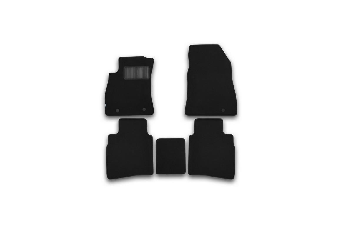 Набор автомобильных ковриков Klever для Nissan Sentra 2014-, седан, в салон, 5 шт. KVR03364122110kh комплект ковриков в салон автомобиля klever nissan x trail 2014 econom