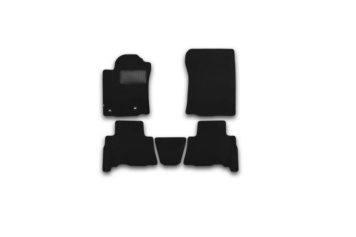 Набор автомобильных ковриков Klever для Toyota Lend Cruiser 150 2013-2015, 2015-, 5 мест, внедорожник, в салон, 5 шт. KVR03482922110kh цены онлайн