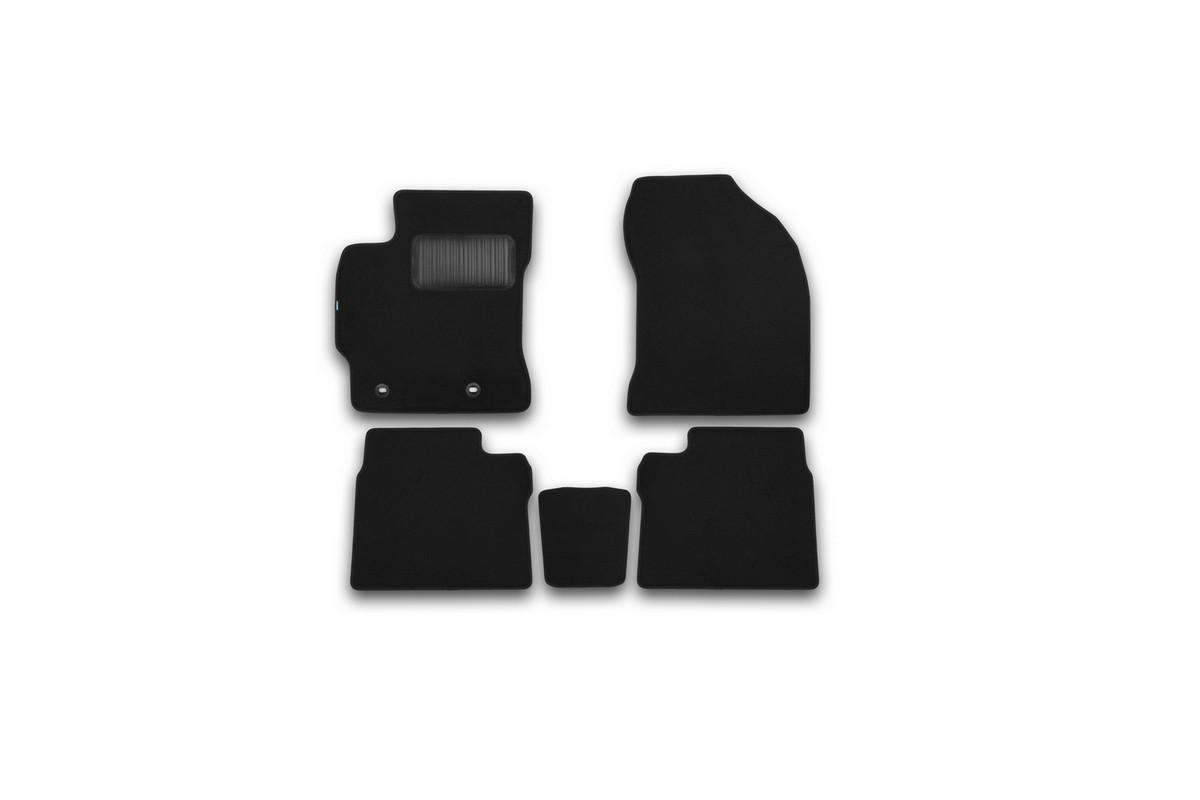 Набор автомобильных ковриков Klever для Toyota Corolla 2013-, седан, в салон, 5 шт. KVR03486922110kh комплект ковриков в салон автомобиля klever toyota highlander 2014 standard