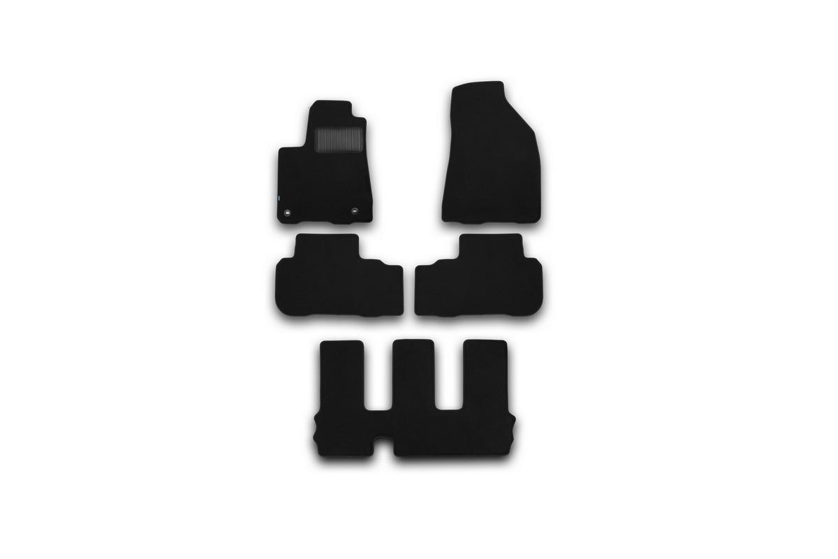 Набор автомобильных ковриков Klever для Toyota HighLender 2014-, внедорожник, в салон, 5 шт. KVR03487522110kh комплект ковриков в салон автомобиля klever toyota highlander 2014 standard