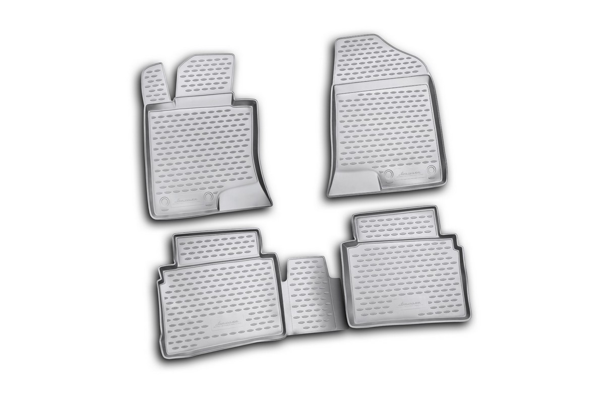 Набор автомобильных ковриков Element для Hyundai Sonata 2010-, в салон, 4 шт набор автомобильных ковриков element для hyundai sonata 2010 в салон 4 шт