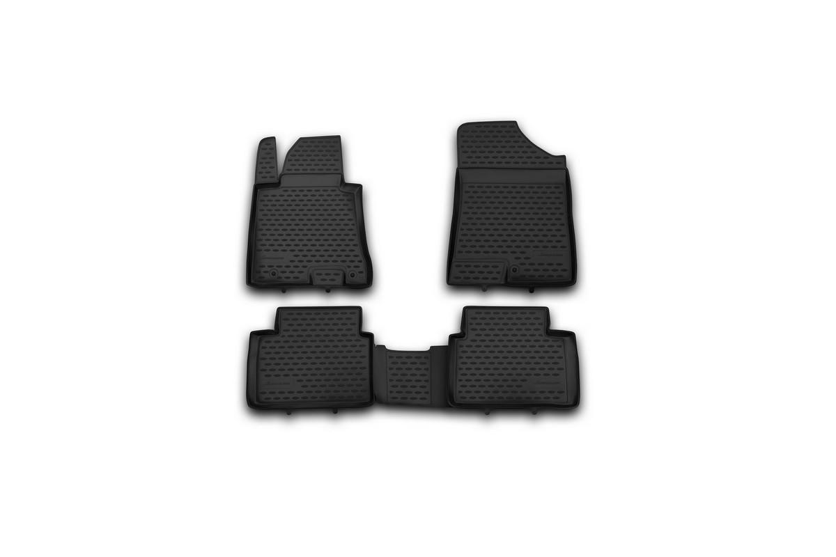 Набор автомобильных ковриков Element для Hyundai i30 2012-, в салон, 4 шт набор автомобильных ковриков element для hyundai sonata 2010 в салон 4 шт