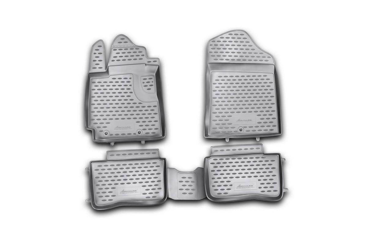цена на Набор автомобильных ковриков Element для Kia Picanto 2011-, в салон, 4 шт