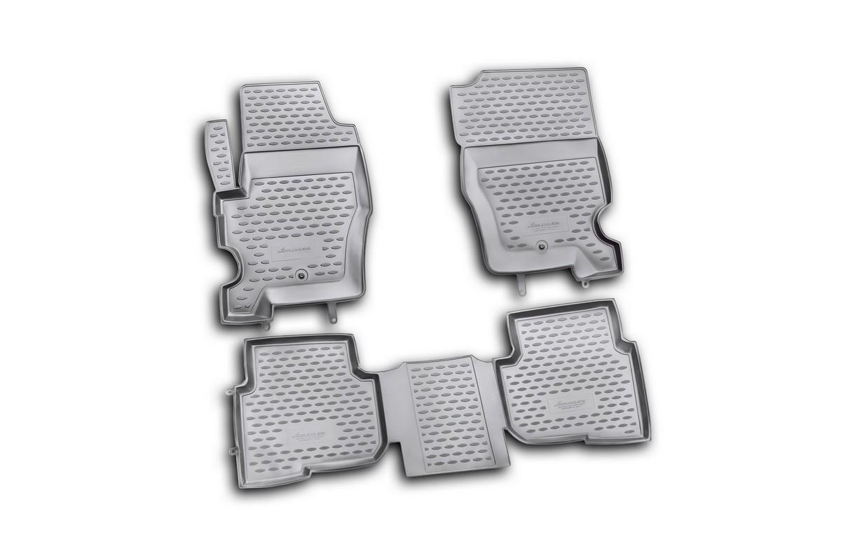 Набор автомобильных ковриков Element для Lend Rover Discovery 4 2010-2014, в салон, 4 шт. NLC.28.05.210h набор автомобильных ковриков element для hyundai sonata 2010 в салон 4 шт