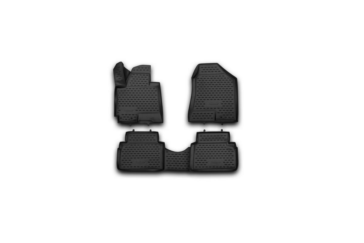 Набор автомобильных 3D-ковриков Element для Hyundai ix35, 2010->, в салон, 4 шт набор автомобильных ковриков element для hyundai sonata 2010 в салон 4 шт