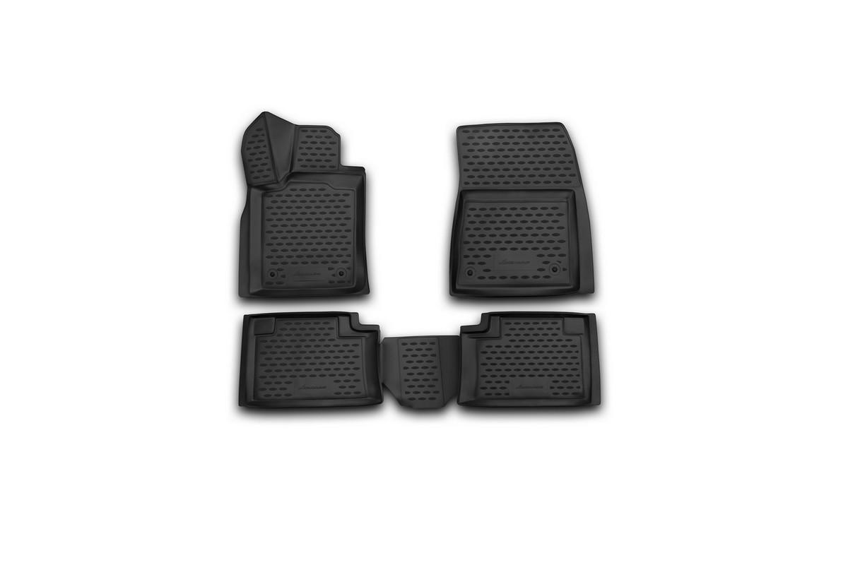Набор автомобильных 3D-ковриков Element для Jeep Grand Cherokee, 2014->, в салон, 4 шт