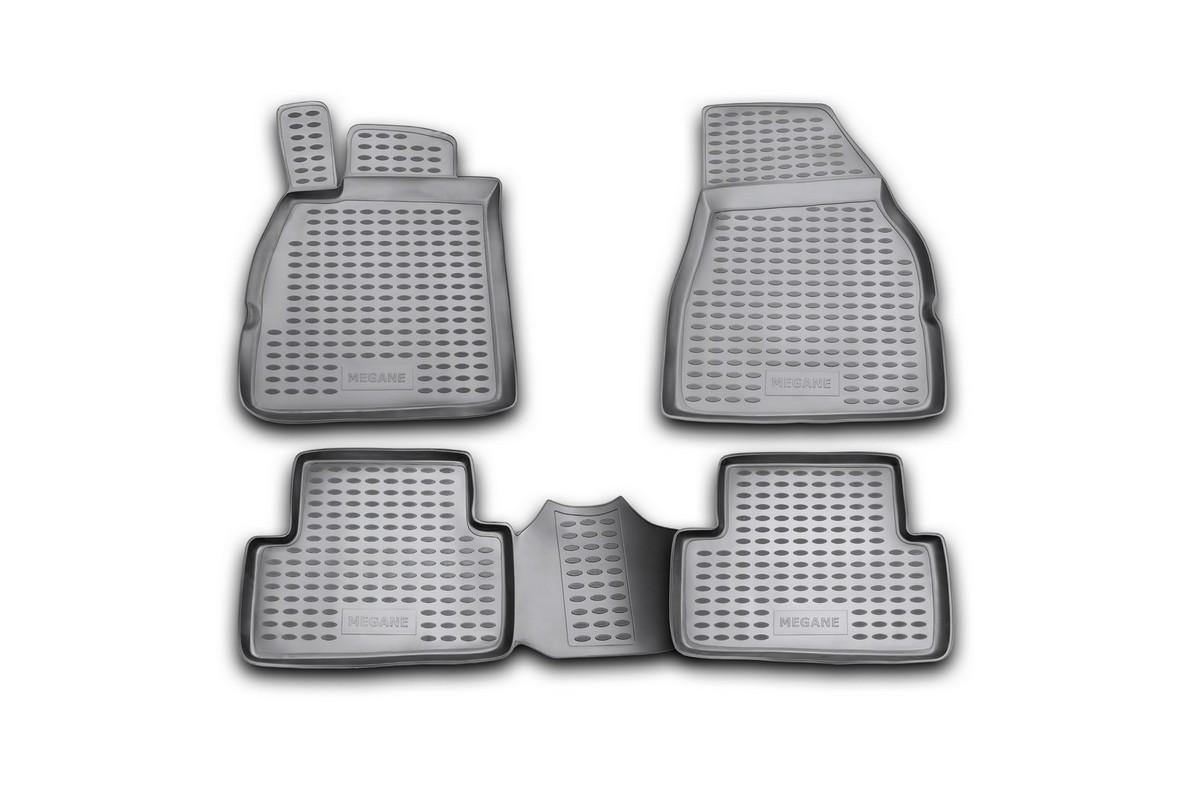 цена на Набор автомобильных ковриков Element для Renault Megane II 2002-2009, в салон, 4 шт
