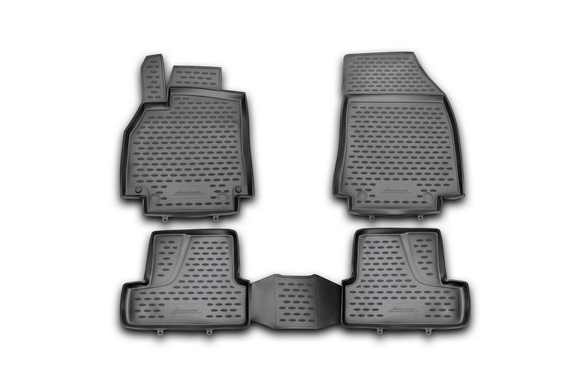 цена на Набор автомобильных ковриков Element для Renault Megane 3 2010-, в салон, 4 шт