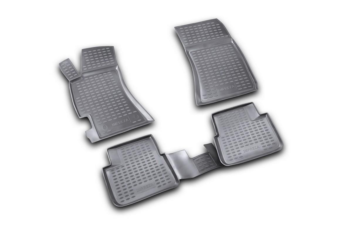 Набор автомобильных ковриков Element для Subaru Impreza 2007-, в салон, 4 шт. NLC.46.07.210k