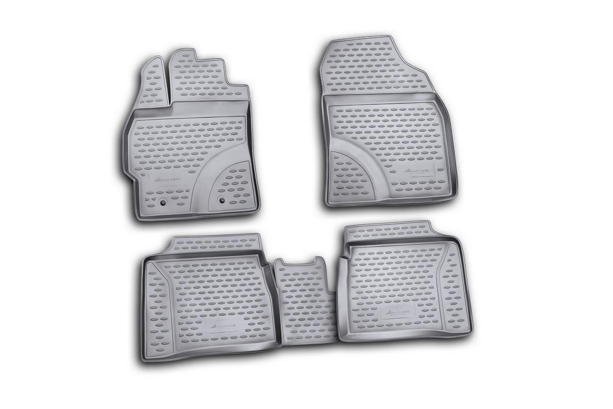 цена на Набор автомобильных ковриков Element для Toyota Prius 10/2009-, в салон, 4 шт