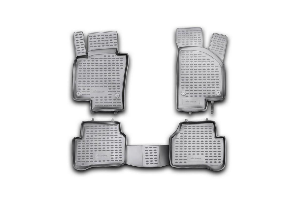 Набор автомобильных ковриков Element для Volkswagen Passat B7 2011-2015, в салон, 4 шт комплект ковриков в салон автомобиля element chery indis 2011