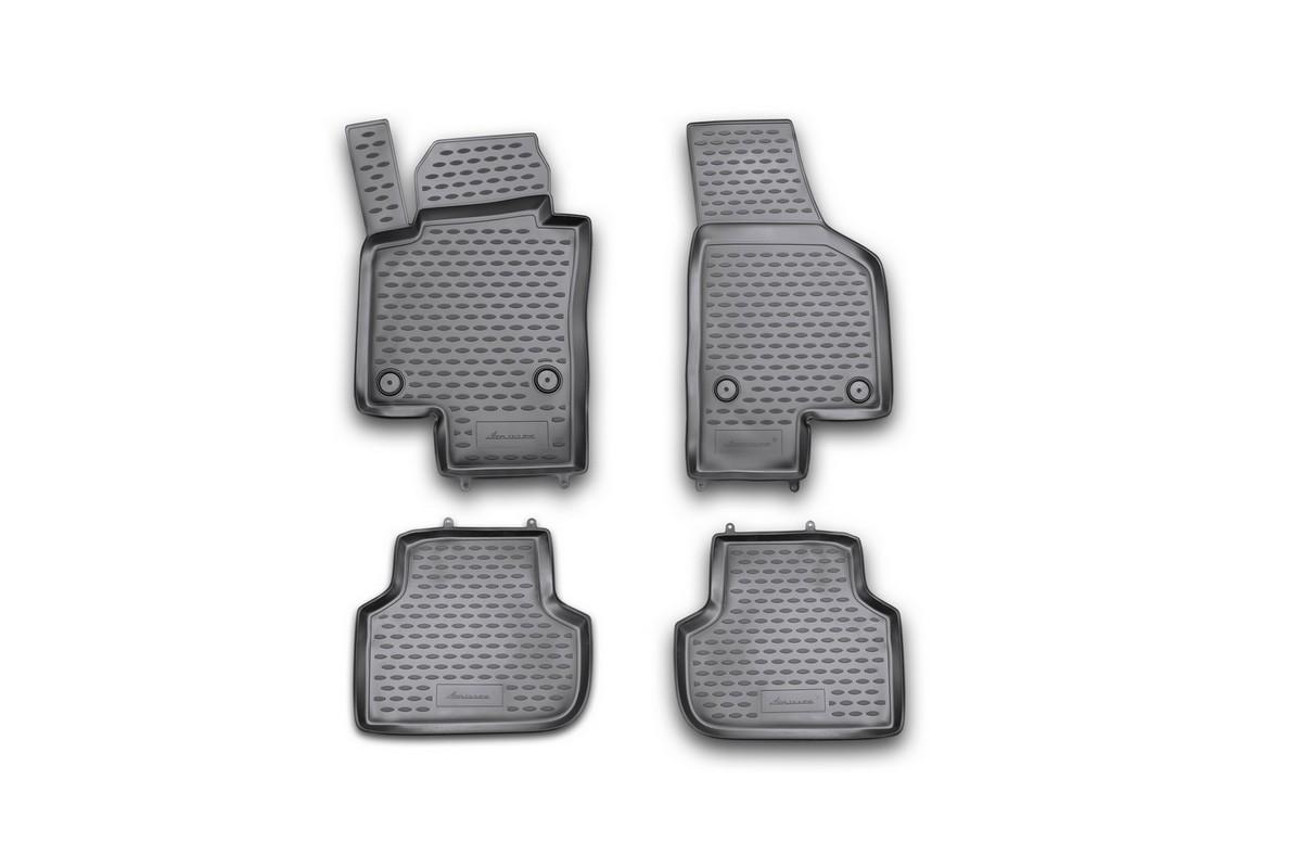 Набор автомобильных ковриков Element для Volkswagen Jetta 2011-, в салон, 4 шт комплект ковриков в салон автомобиля element chery indis 2011