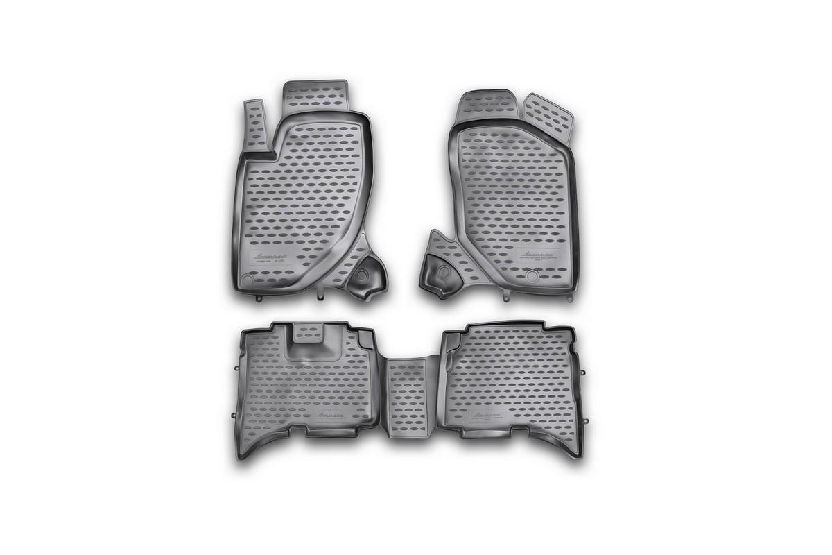 Набор автомобильных ковриков Element для Great Wall Hover H5 TDA 2010-, в салон, 4 шт коврики в салон автомобиля avtodriver для great wall hover h5 2010 adravg019 резиновые с бортиком черный