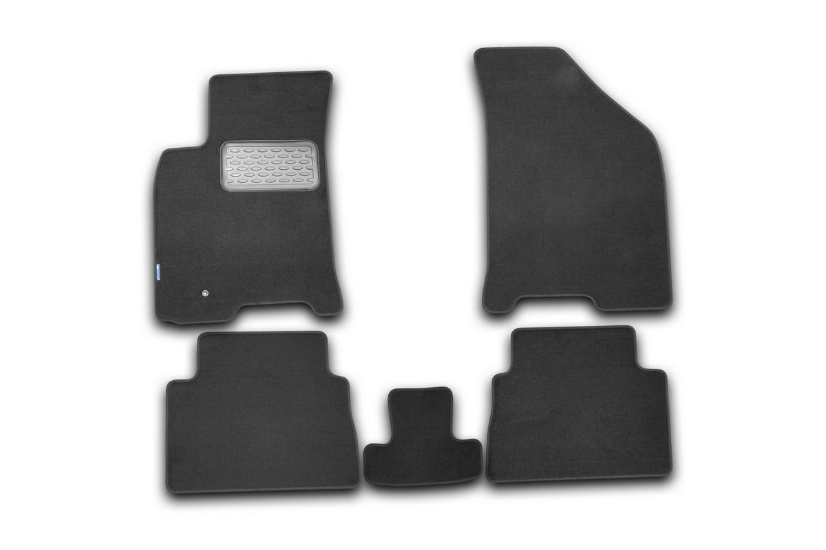 Набор автомобильных ковриков Klever для Chevrolet Lacetti 2004-, седан/хэтчбек/универсал, в салон, 5 шт цены онлайн