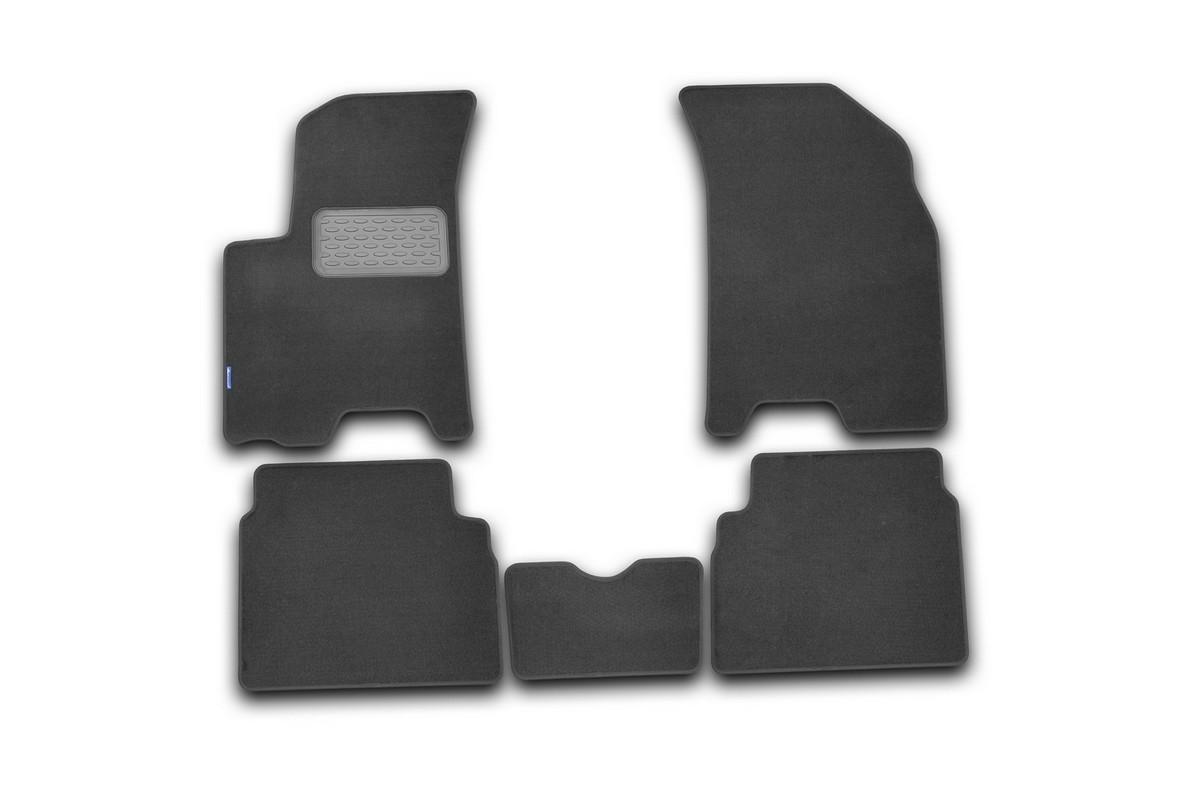 Набор автомобильных ковриков Klever для Chevrolet Aveo 2008, седан/хэтчбек, в салон, 5 шт цены онлайн
