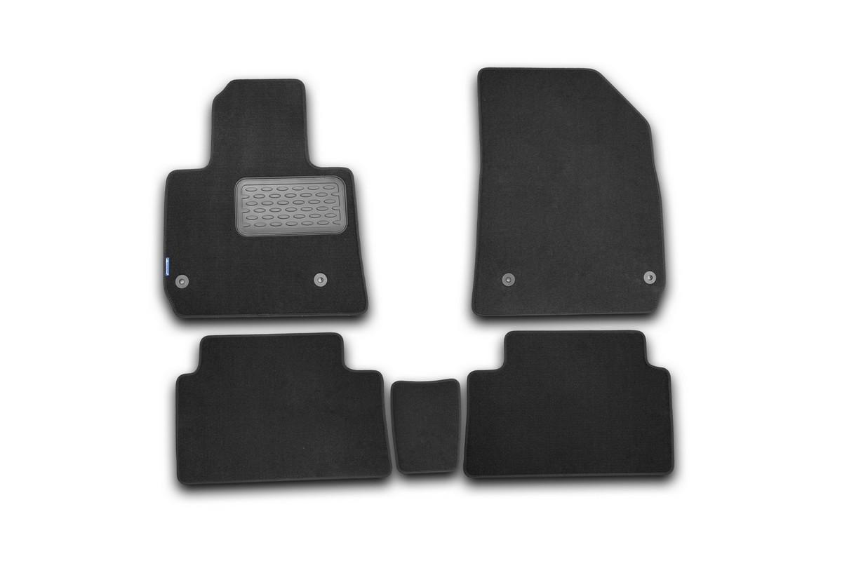 Набор автомобильных ковриков Klever для Citroen C5 2008-, седан/универсал, в салон, 5 шт цены онлайн
