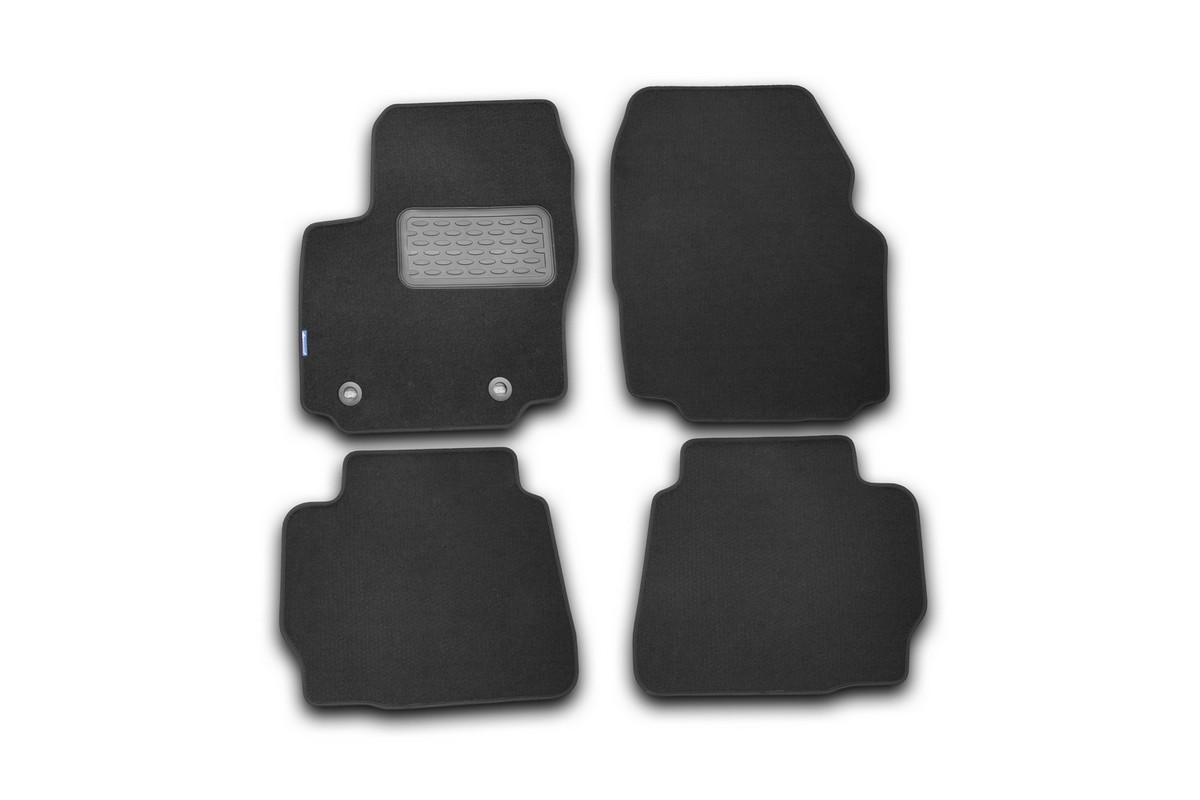 Набор автомобильных ковриков Klever для Ford Mondeo 2011-2014, седан, в салон, цвет: черный, 4 шт. NLT.16.33.11.110kh недорго, оригинальная цена