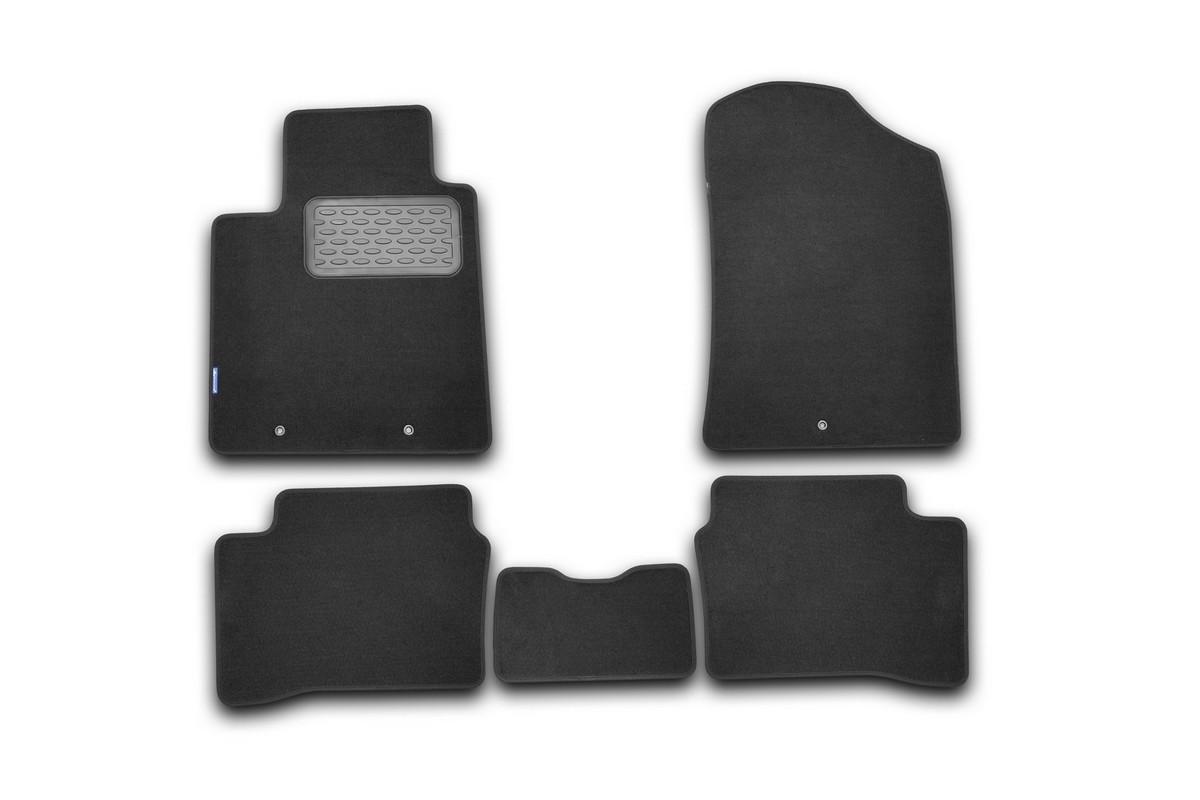 Набор автомобильных ковриков Klever для Kia Picanto 2011-, хэтчбек, в салон, 5 шт. NLT.25.36.11.110kh недорго, оригинальная цена