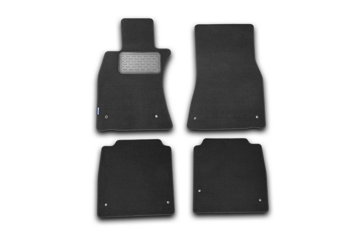 Набор автомобильных ковриков Klever для Lexus LS 600hL АКПП 2007-, седан, в салон, 4 шт коврики в салон автомобиля klever standard для lada priora 2007 хэтчбек седан 4 шт