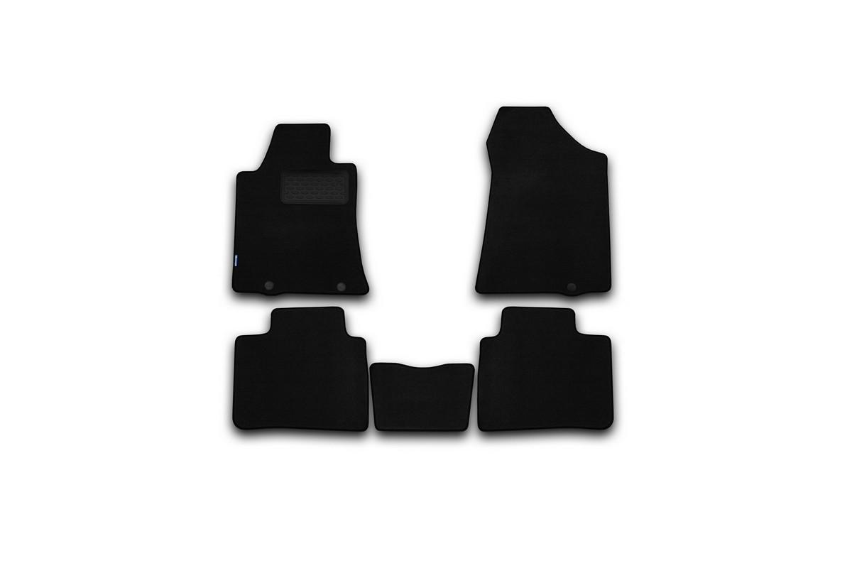 Набор автомобильных ковриков Klever для Nissan Teana 2014-, седан, в салон, 5 шт комплект ковриков в салон автомобиля klever nissan x trail 2014 econom