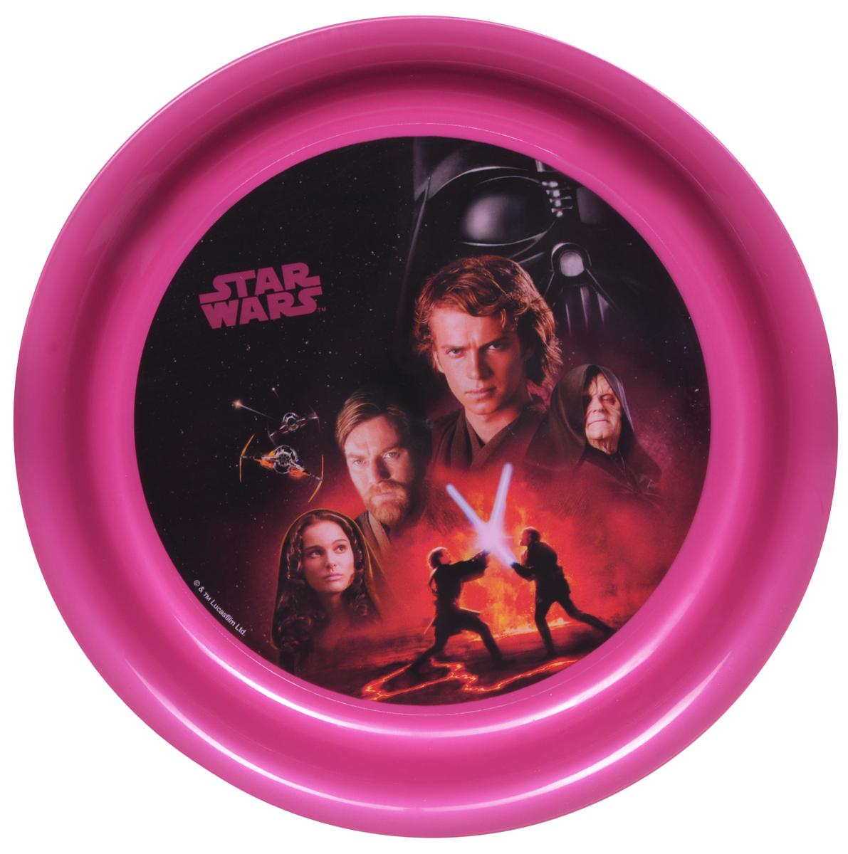 Фото - Star Wars Тарелка детская диаметр 19 см star wars тарелка детская штурмовики диаметр 19 см