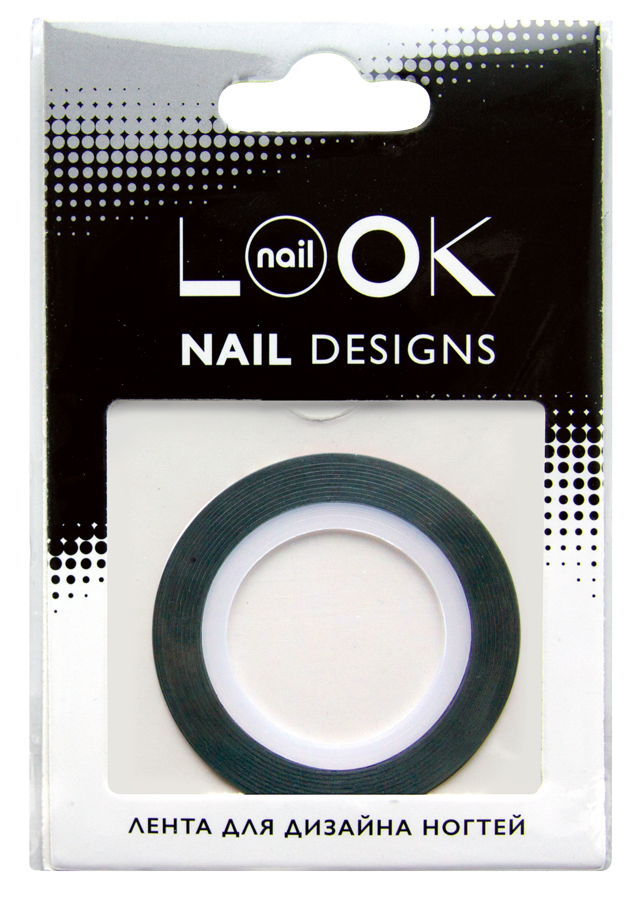 nailLOOK Лента для дизайна ногтей Stripping tape липкая лента bondage tape