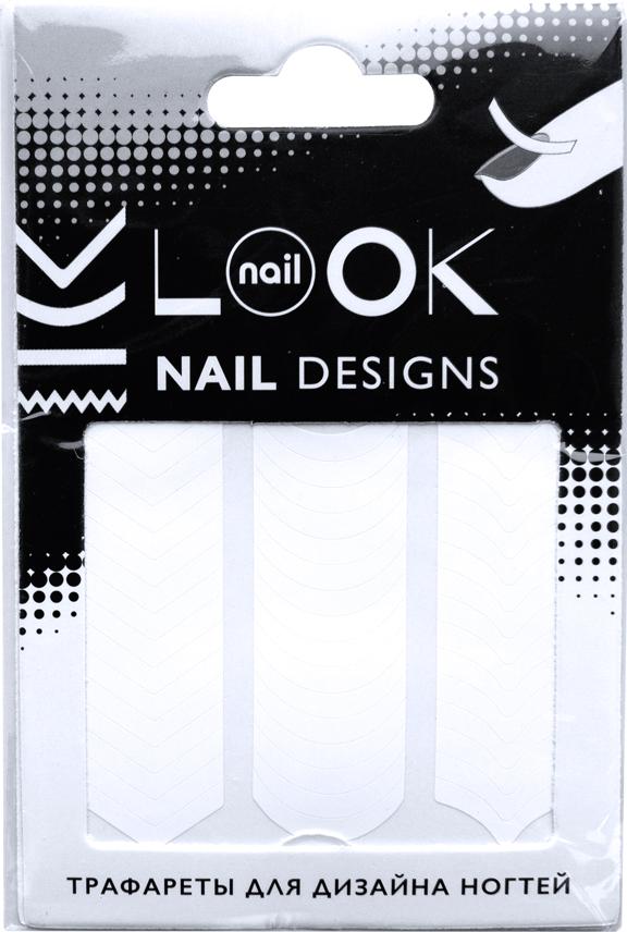 цена на nailLOOK Трафареты для дизайна ногтей Tip Guides