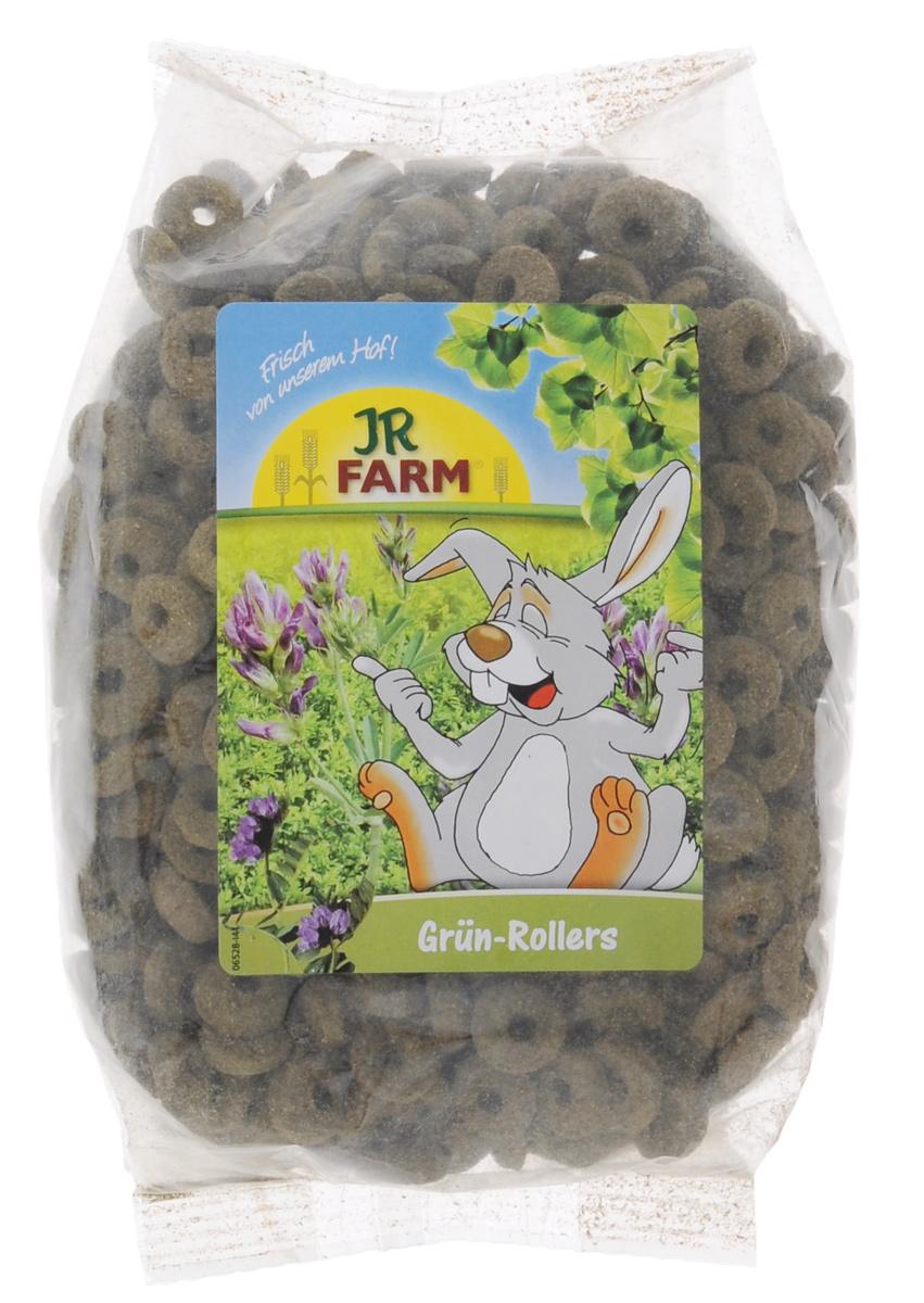 Лакомство для грызунов JR Farm Зеленые колечки, 500 г