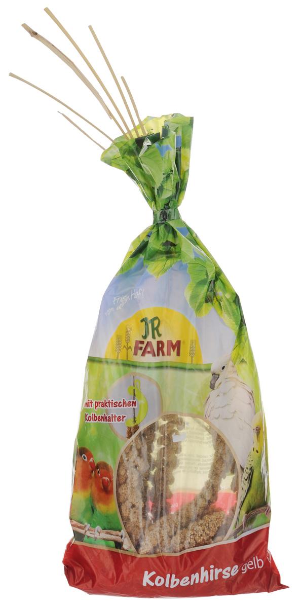 Лакомство для птиц JR Farm Ветка просо желтого, 250 г цена