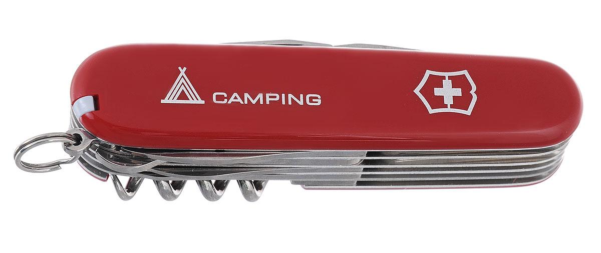 """Нож перочинный Victorinox """"Ranger"""", цвет: красный, 21 функция, 9,1 см"""