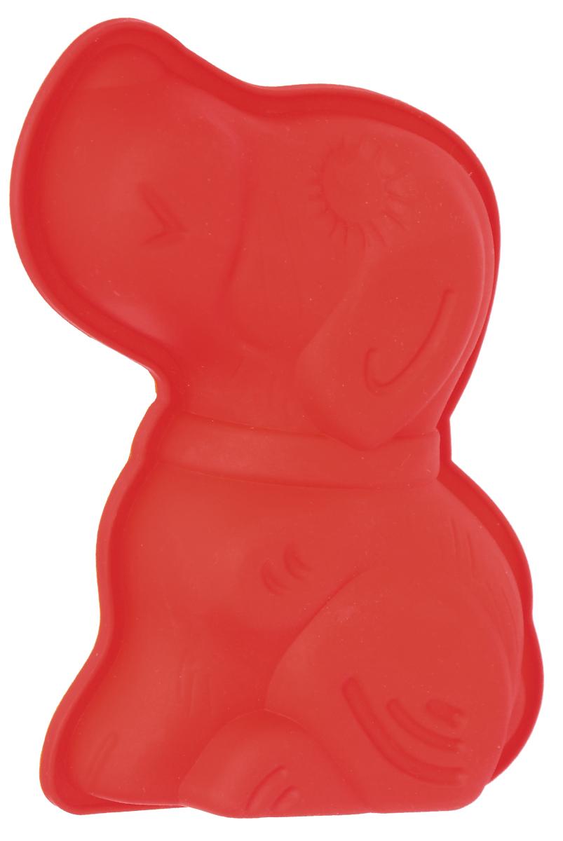 "Форма для выпечки Bekker ""Собачка"", цвет: красный"