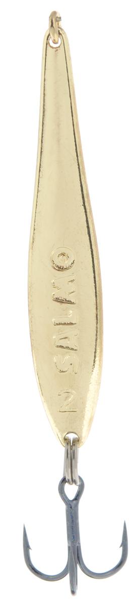 Фото - Блесна вертикальная зимняя Lucky John, цвет: золотой, 4,2 см, 3,5 г блесна зимняя swd цвет золотой 60 мм 5 г