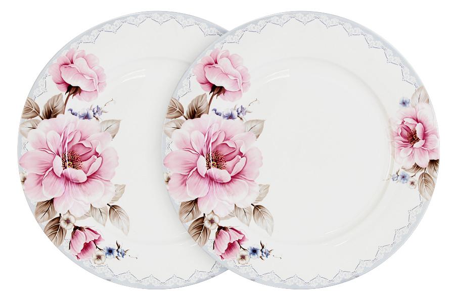 Фото - Набор обеденных тарелок Primavera Розовый блюз, диаметр 26,5 см, 2 шт чаша альтернатива розовый блюз 3 л