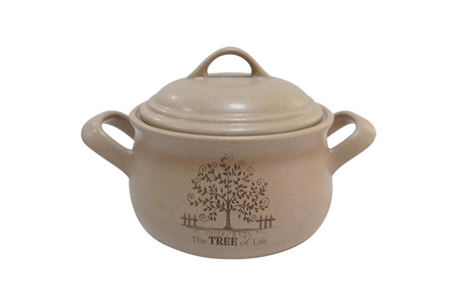 """<b>Горшочек для запекания Terracotta</b> """"Дерево жизни"""", 500 мл ..."""