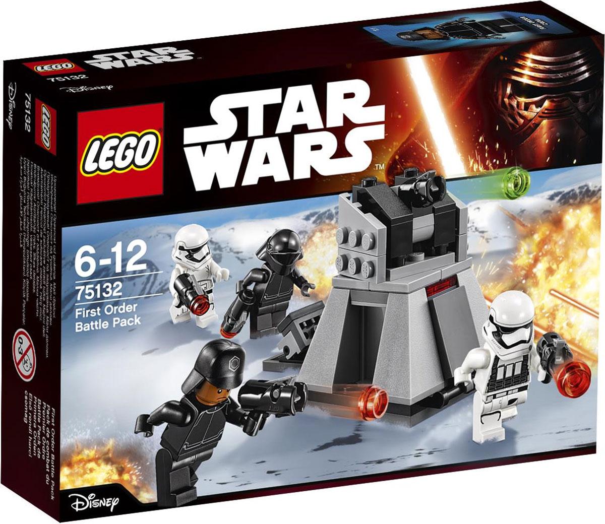 LEGO Star Wars Конструктор Боевой набор Первого Ордена 75132 конструктор lego star wars боевой набор сопротивления 75131