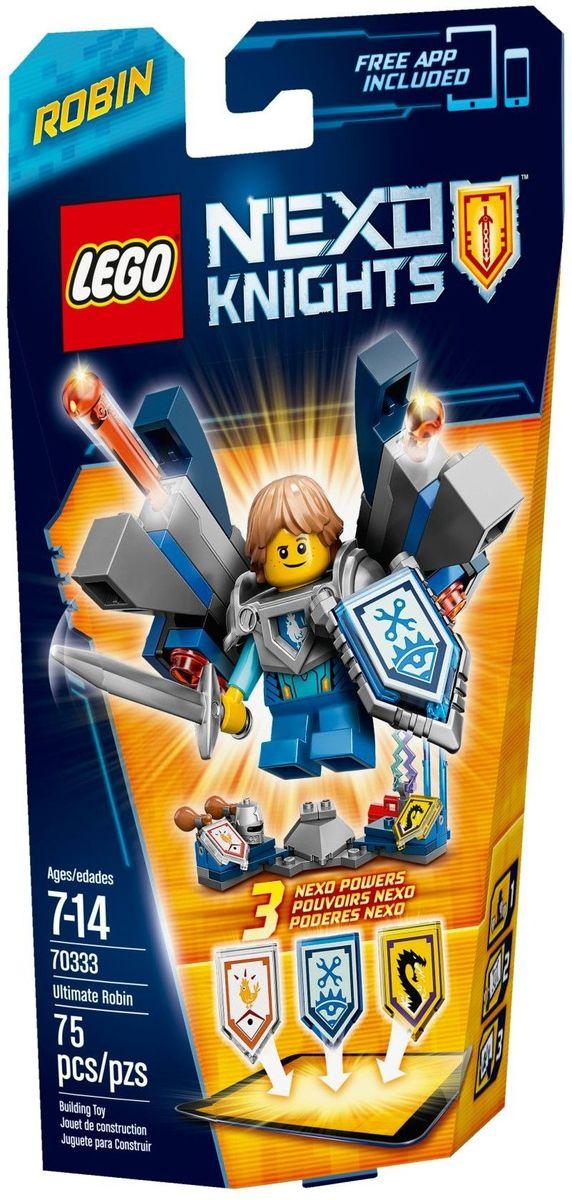 LEGO NEXO KNIGHTS Конструктор Робин Абсолютная сила 70333