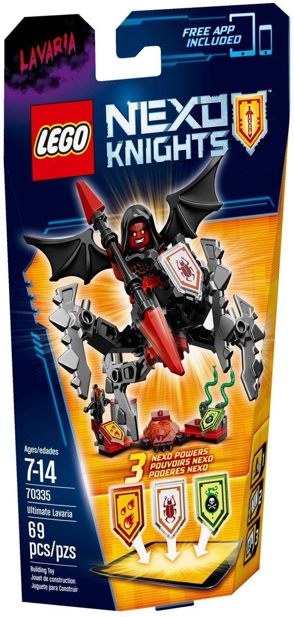 LEGO NEXO KNIGHTS Конструктор Лавария Абсолютная сила 70335