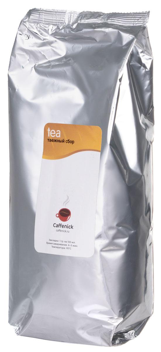 Caffenick Таежный сбор черный листовой чай, 500 г caffenick иван чай травяной листовой чай 500 г