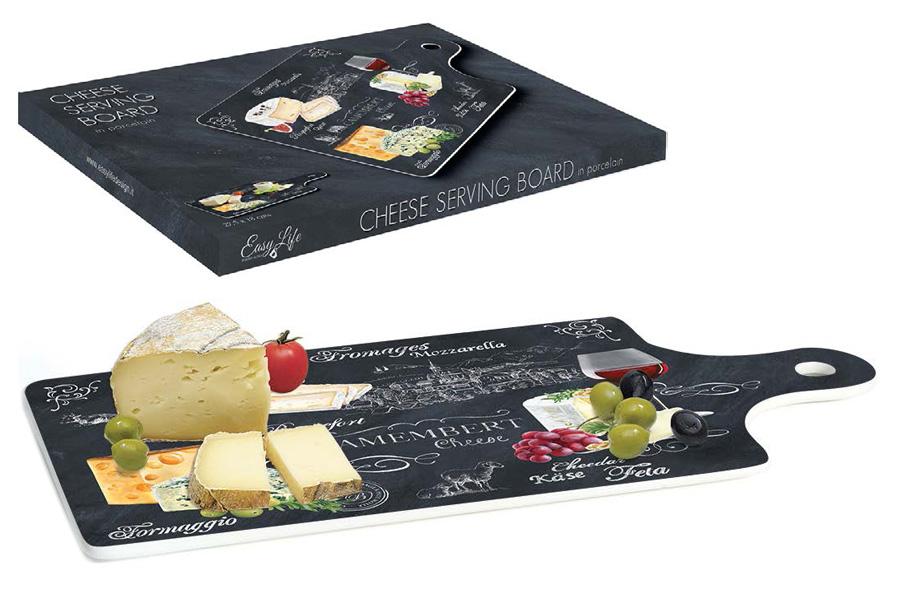 Доска разделочная Nuova R2S Мир сыров, 34,5 х 18 см настольная подложка nuova r2s s p a