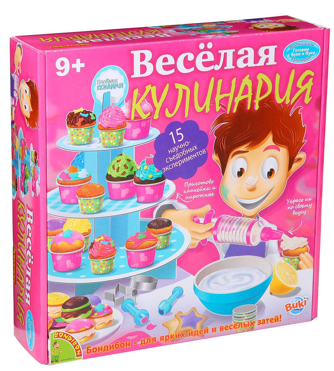Bondibon Набор для опытов Веселая кулинария ведическая кулинария сладости выпуск 12 isbn 9785820503535