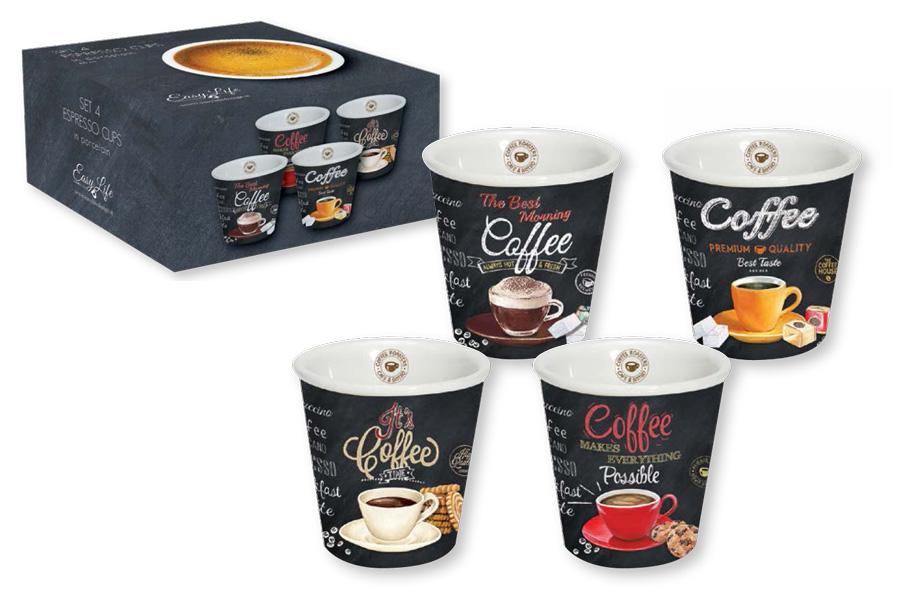 Набор чашек для эспрессо Nuova R2S, 4 шт. R2S1016/ICTT-AL настольная подложка nuova r2s s p a