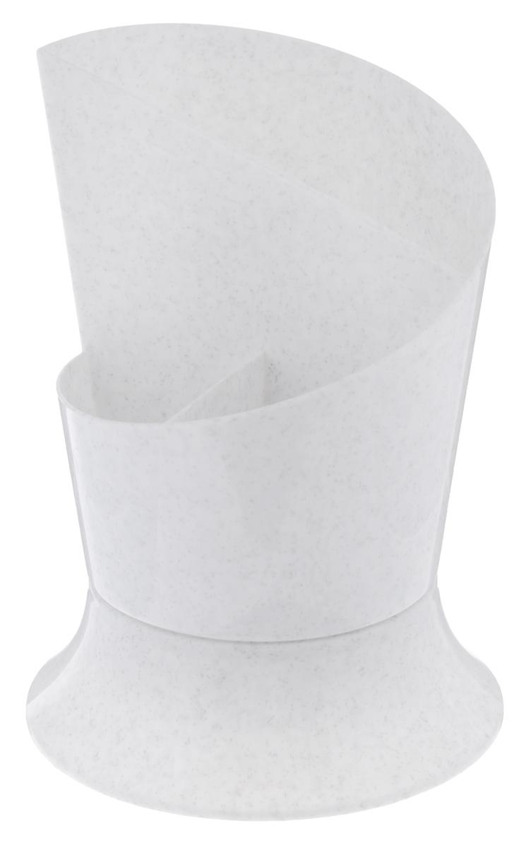 Сушилка для столовых приборов Idea Факел, цвет: мраморный usb перезаряжаемый высокой яркости ударопрочный фонарик дальнего света конвой sos факел мощный самозащита 18650 батареи
