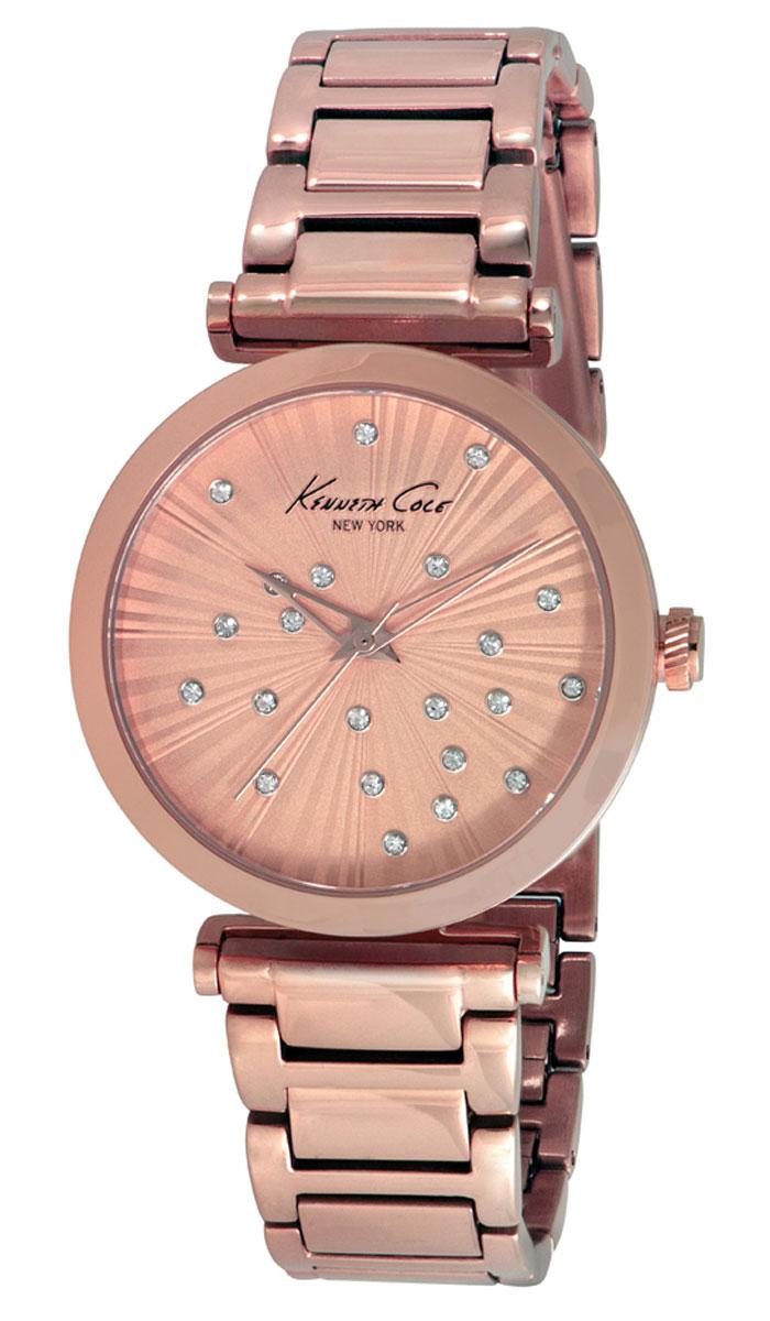 Наручные часы женские Kenneth Cole Classic, цвет: золотой. IKC0019 все цены