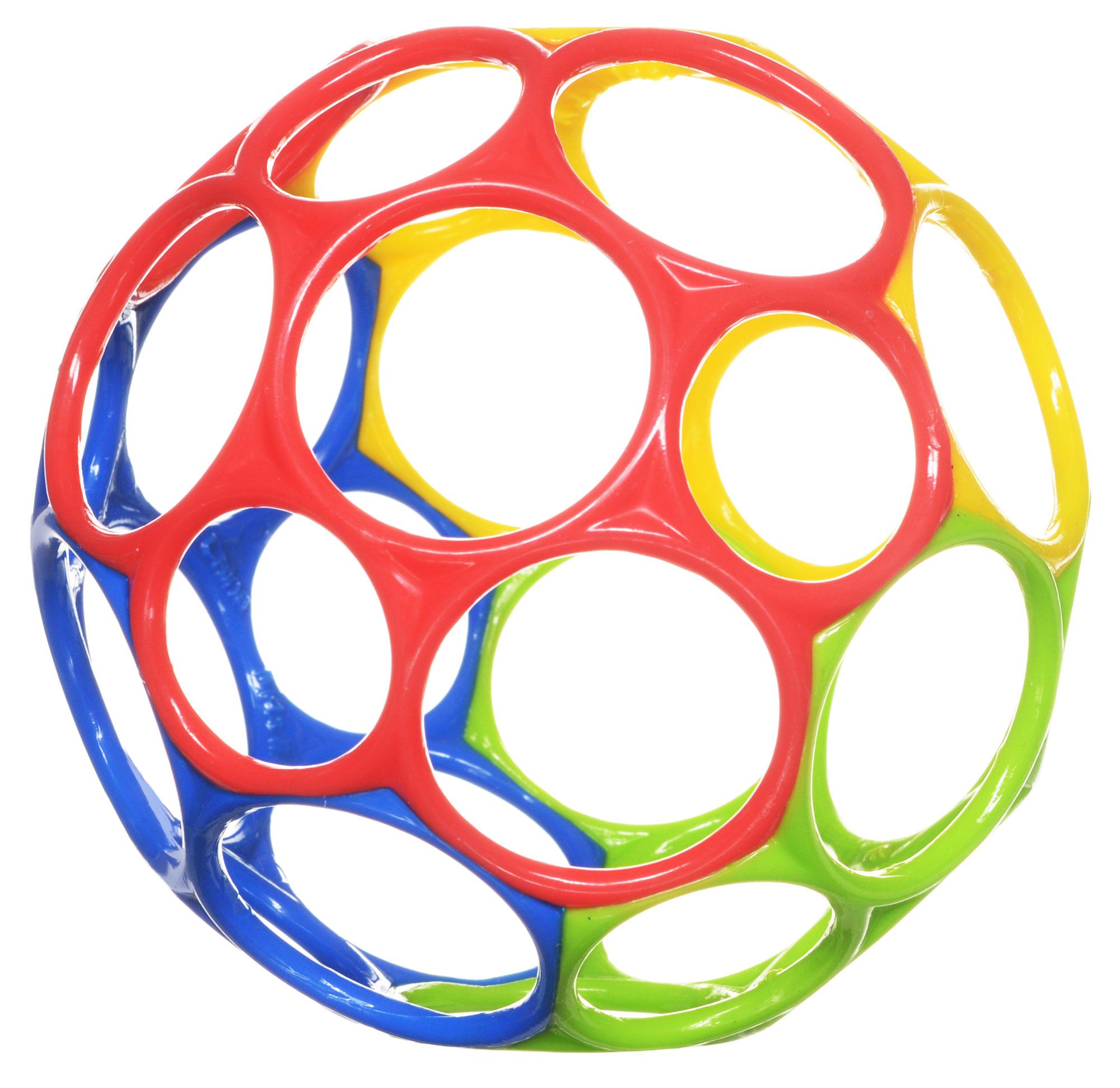Развивающая игрушка Oball 81024_красный, синий, зеленый, желтый