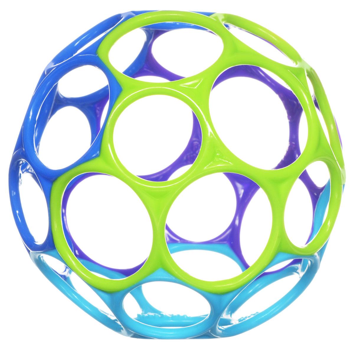 Развивающая игрушка Oball 81024_фиолетовый, синий, голубой, салатовый