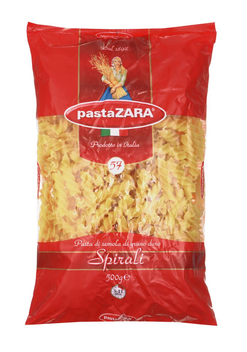 Pasta Zara Спираль макароны, 500 г pasta zara звездочки макароны 500 г
