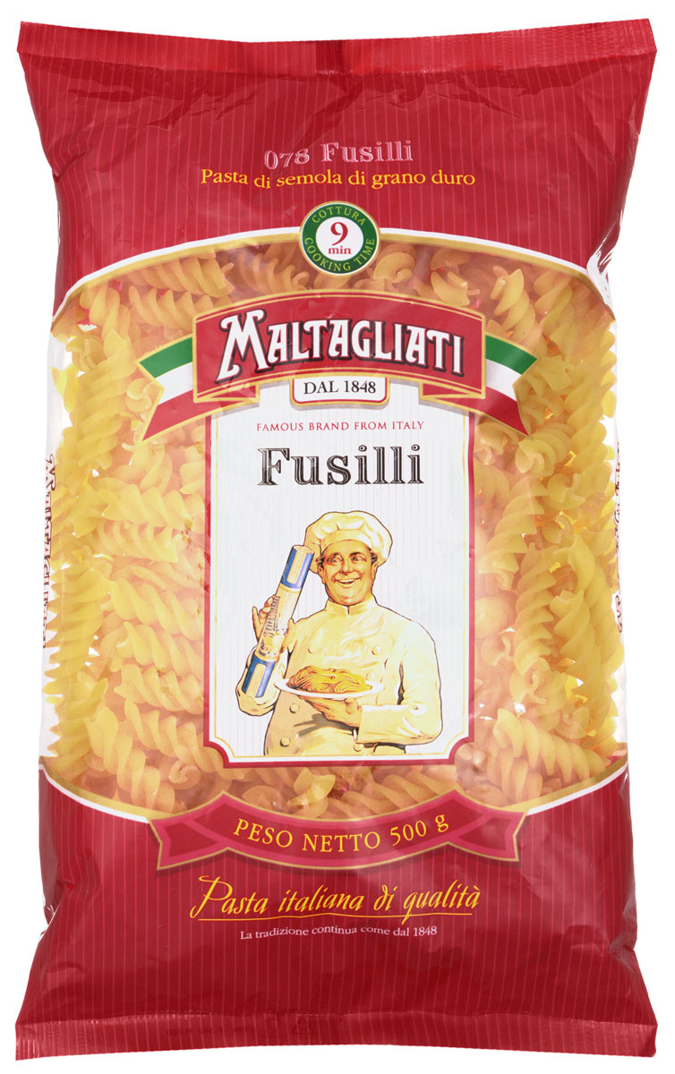Maltagliati Fusilli Спираль макароны, 500 г robert joseph pothier oeuvres t 8