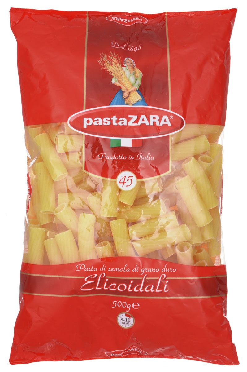 Pasta Zara Трубка рифленая макароны, 500 г
