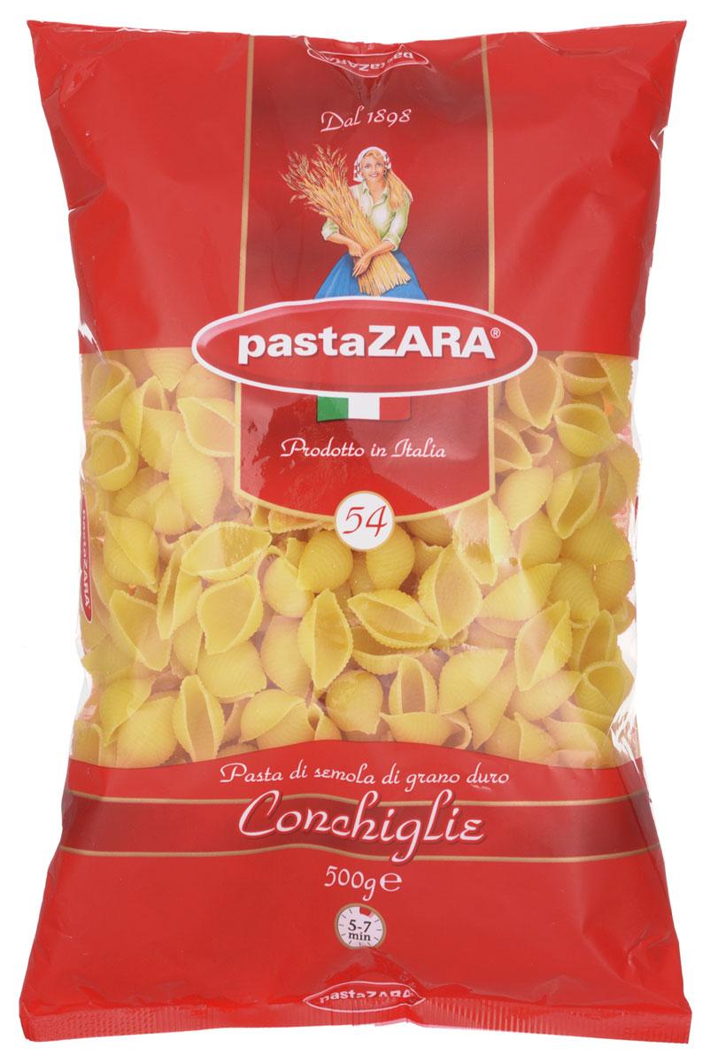 Pasta Zara Ракушка макароны, 500 г pasta zara звездочки макароны 500 г